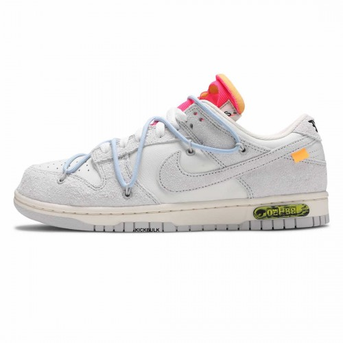 OFF-WHITE X DUNK LOW 'LOT 38 OF 50' DJ0950-113